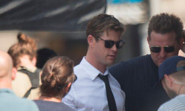 Primeras Imágenes de Chris Hemsworth en el Rodaje de MIB