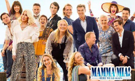 Mamma Mía! Here we go again : Regresa Donna, las Dinamo y las canciones de Abba
