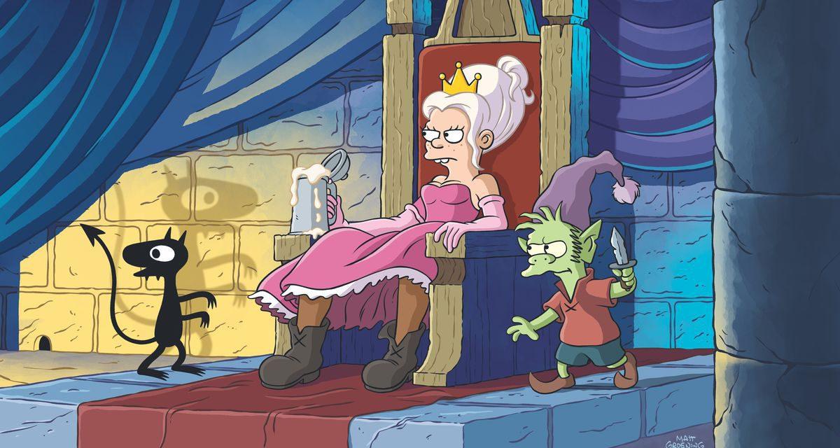 Como Matt Groening dejó 'Game of Thrones' por (Des)Encanto
